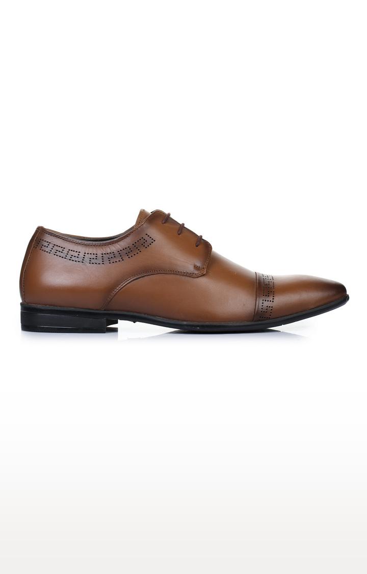 Liberty   Tan Derby Shoes