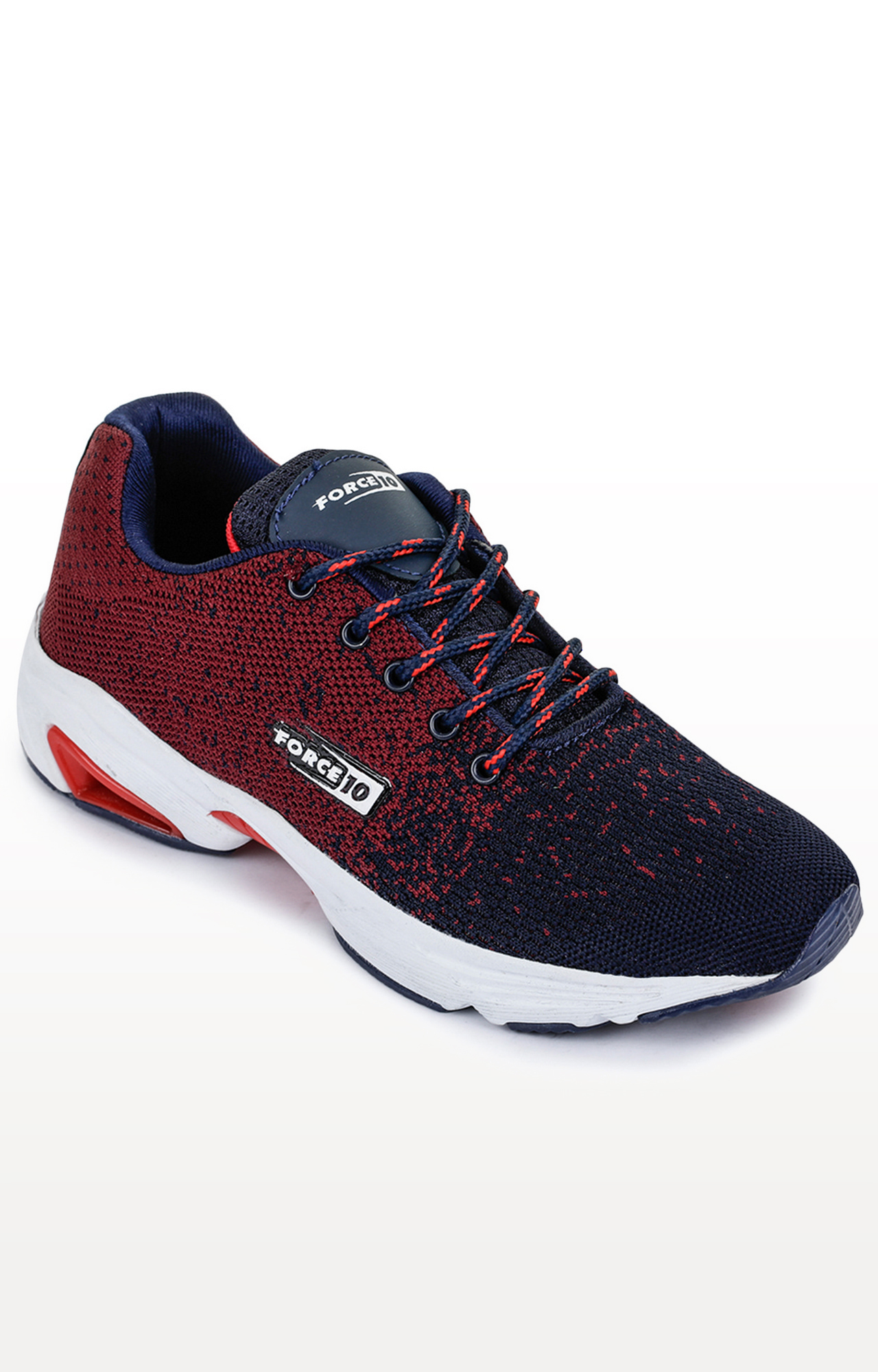 Liberty | Force 10 by Liberty Maroon Sports Shoes