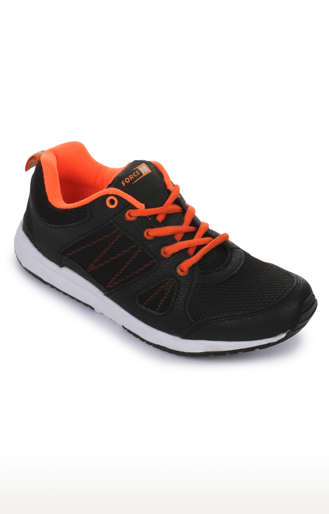 Liberty | Force 10 by Liberty Black Sports Shoes