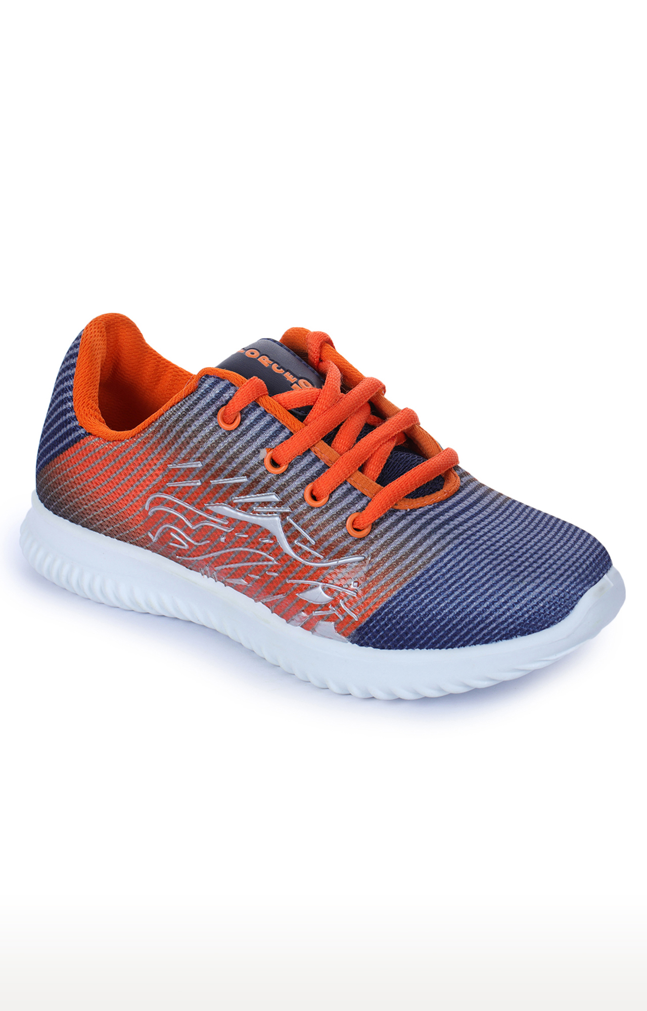 Liberty   Force 10 by Liberty Orange and Blue Sports Shoes