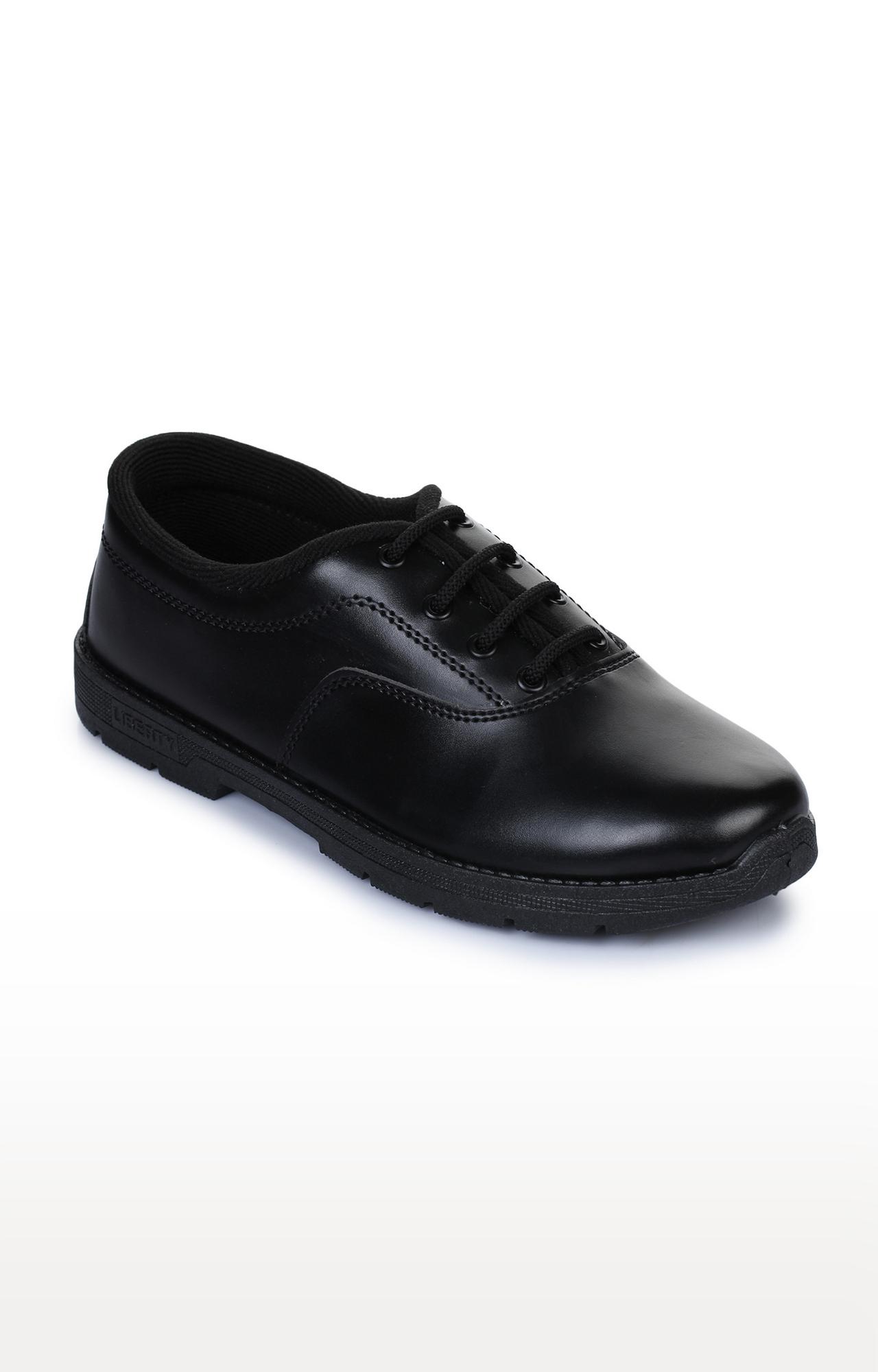 Liberty | Prefect by Liberty Unisex Black School Shoes