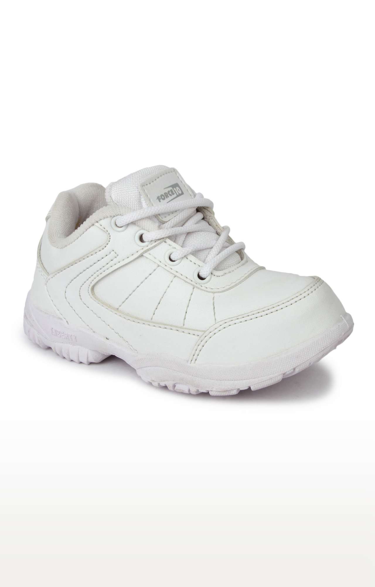 Liberty | Prefect by Liberty Unisex White Indoor Sports Shoes