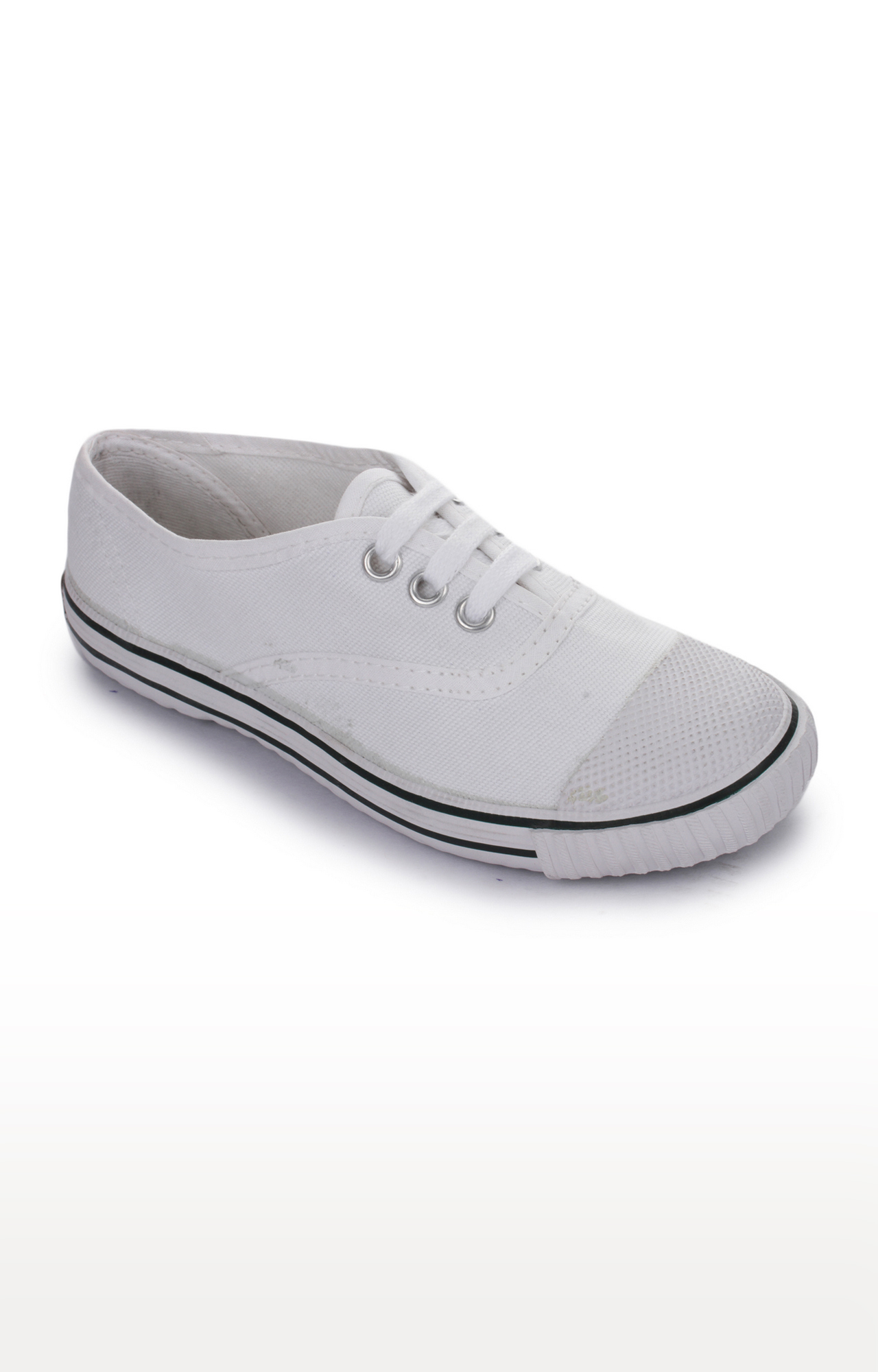 Liberty | Prefect by Liberty Unisex White Sneakers