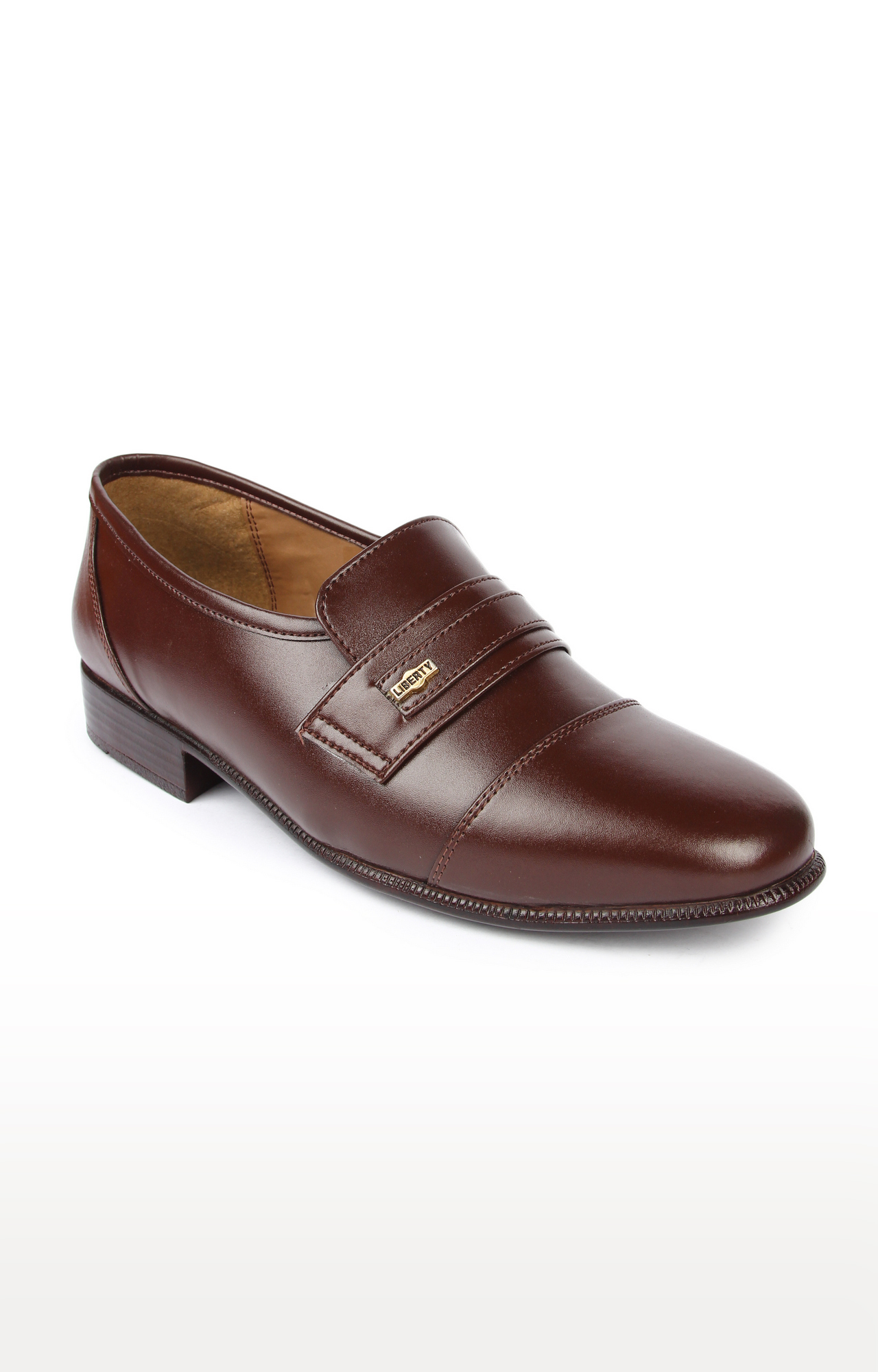 Liberty | Fortune by Liberty Brown Formal Slip-ons