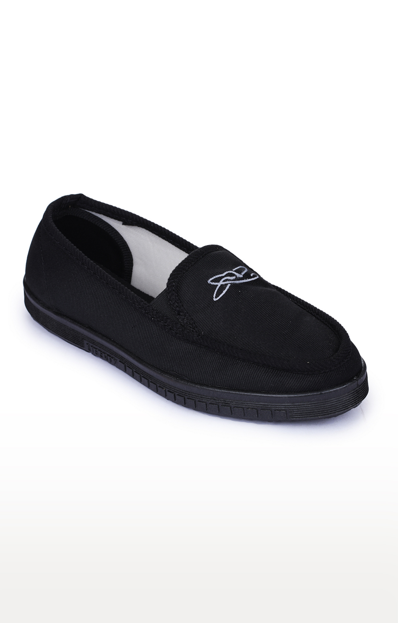 Liberty | Gliders by Liberty Black Casual Slip-ons