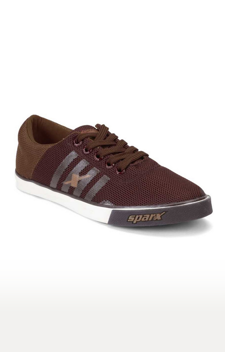 Sparx | Brown Indoor Sports Shoes
