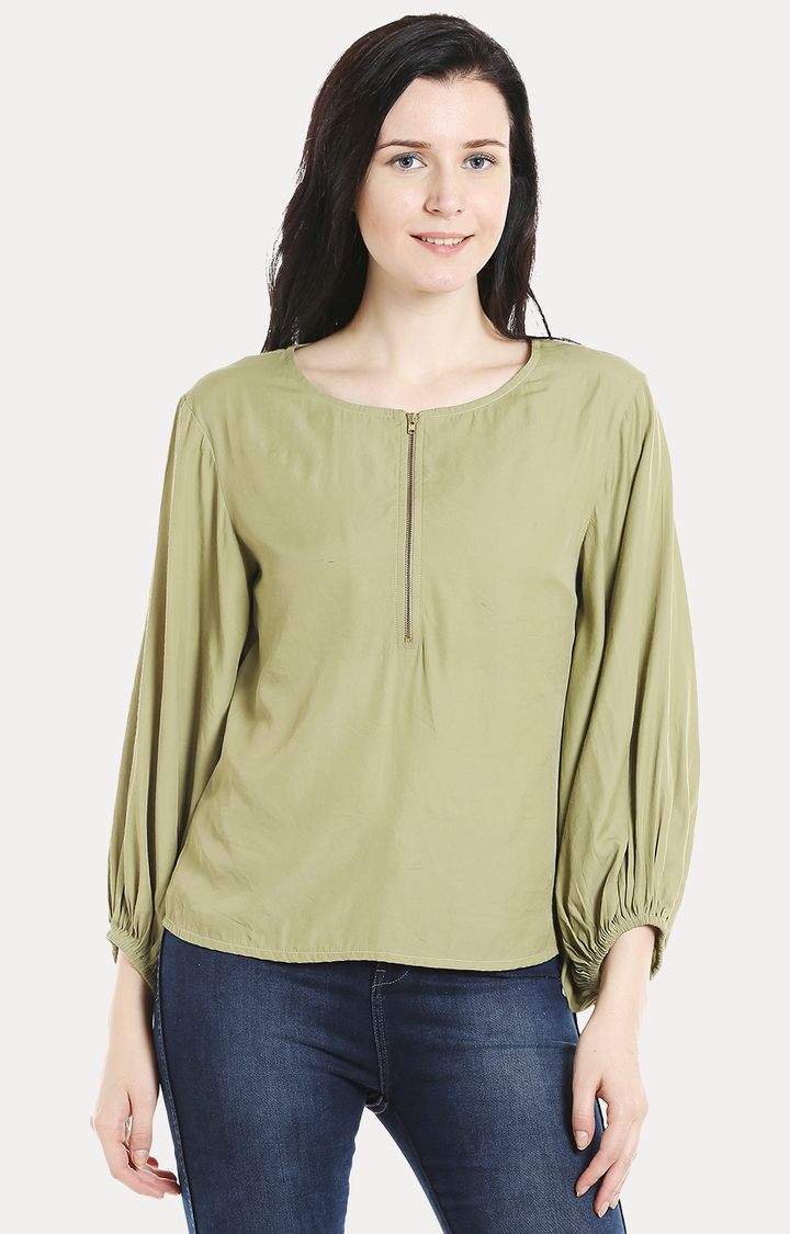 109F   Green Solid Top