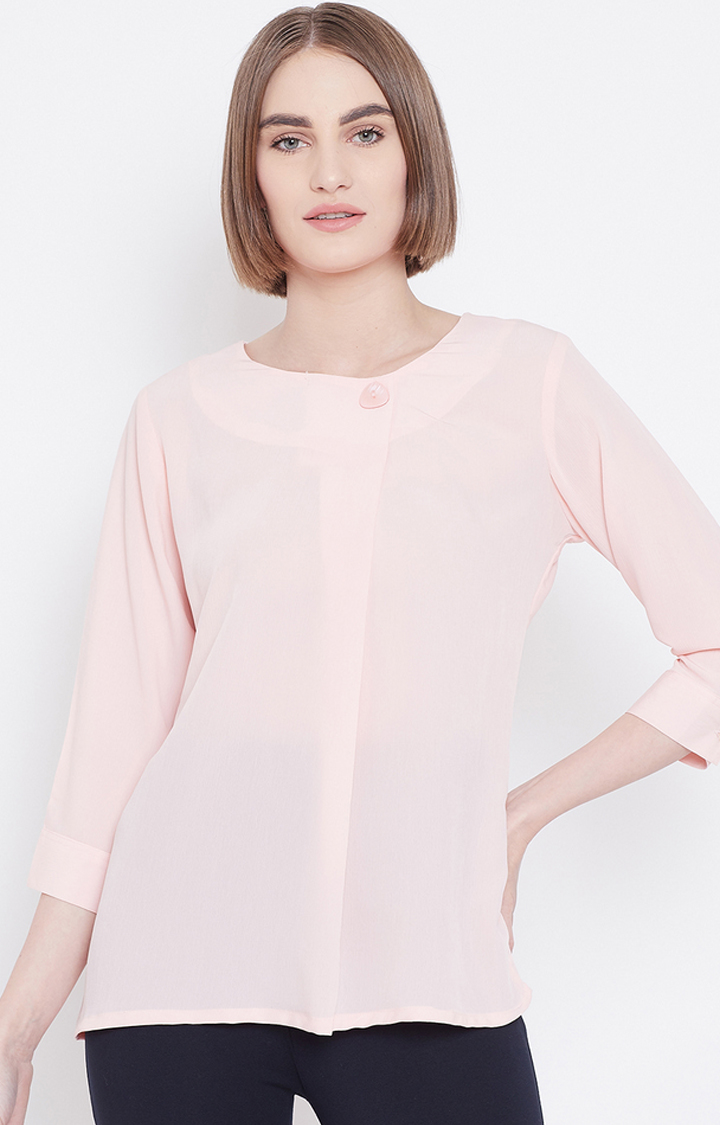 METTLE | Pink Solid Top