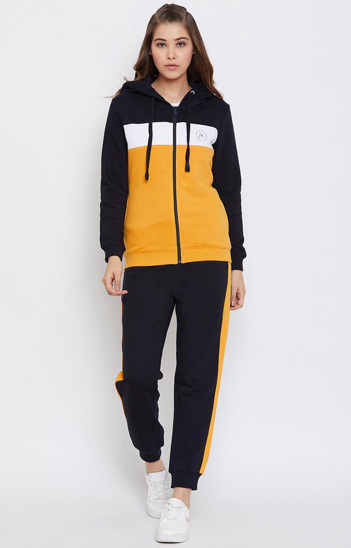 METTLE | Navy Colourblock Jogging Suit