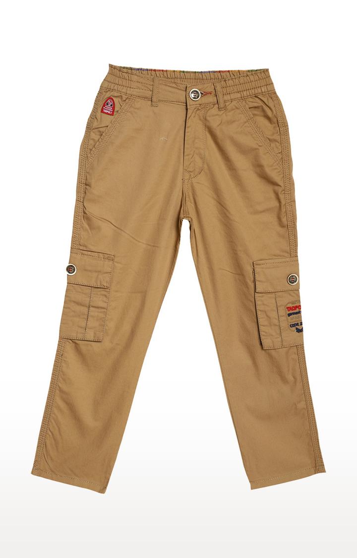 Tadpole | Khaki Solid Jeans