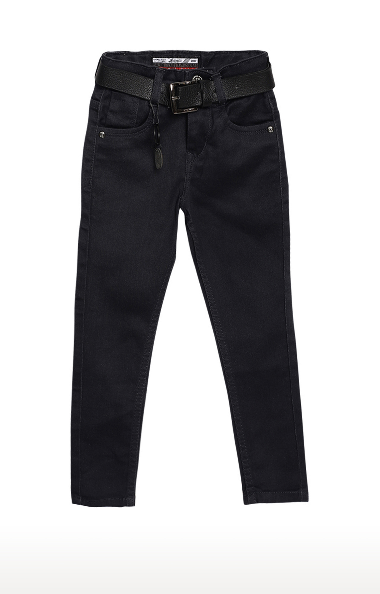 Tadpole | Charcoal Solid Regular-Fit Jeans