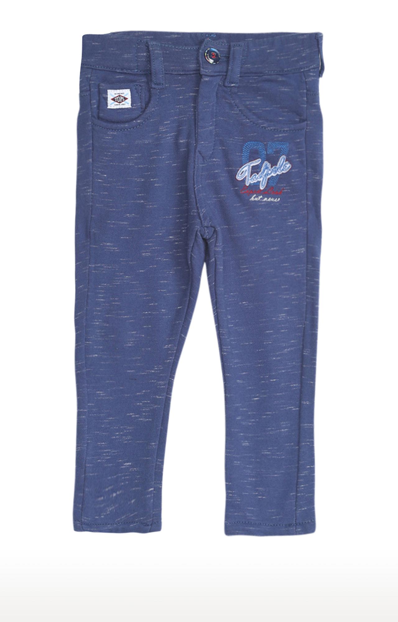 Tadpole | Blue Melange Trousers