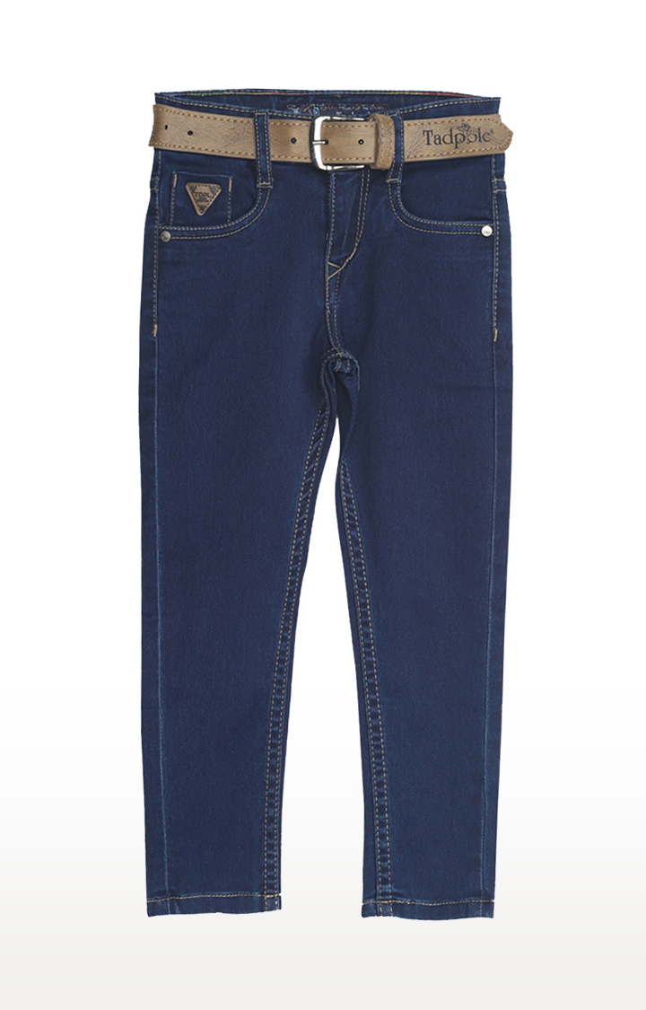 Tadpole   Blue Solid Jeans