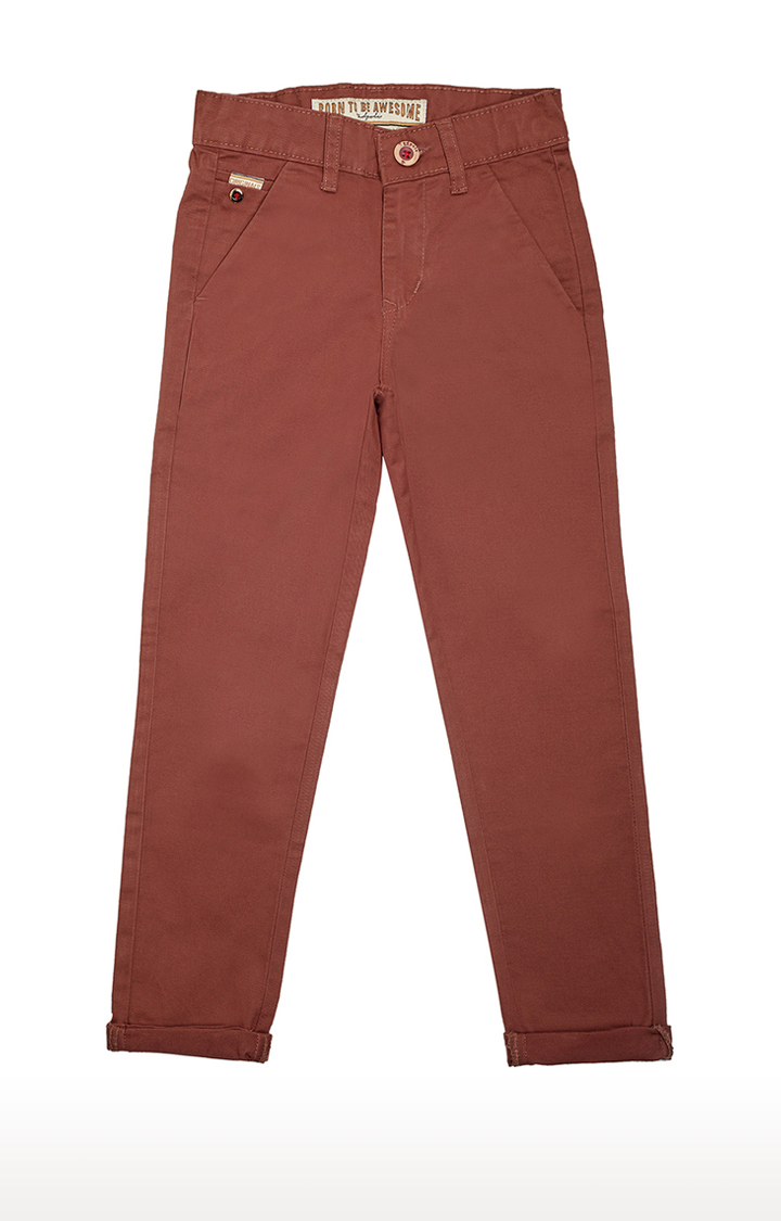 Tadpole | Brown Solid Jeans
