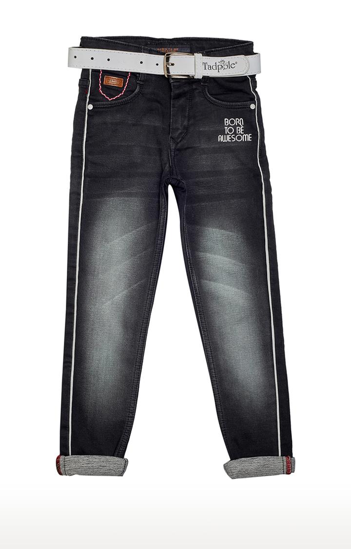 Tadpole   Black Solid Jeans