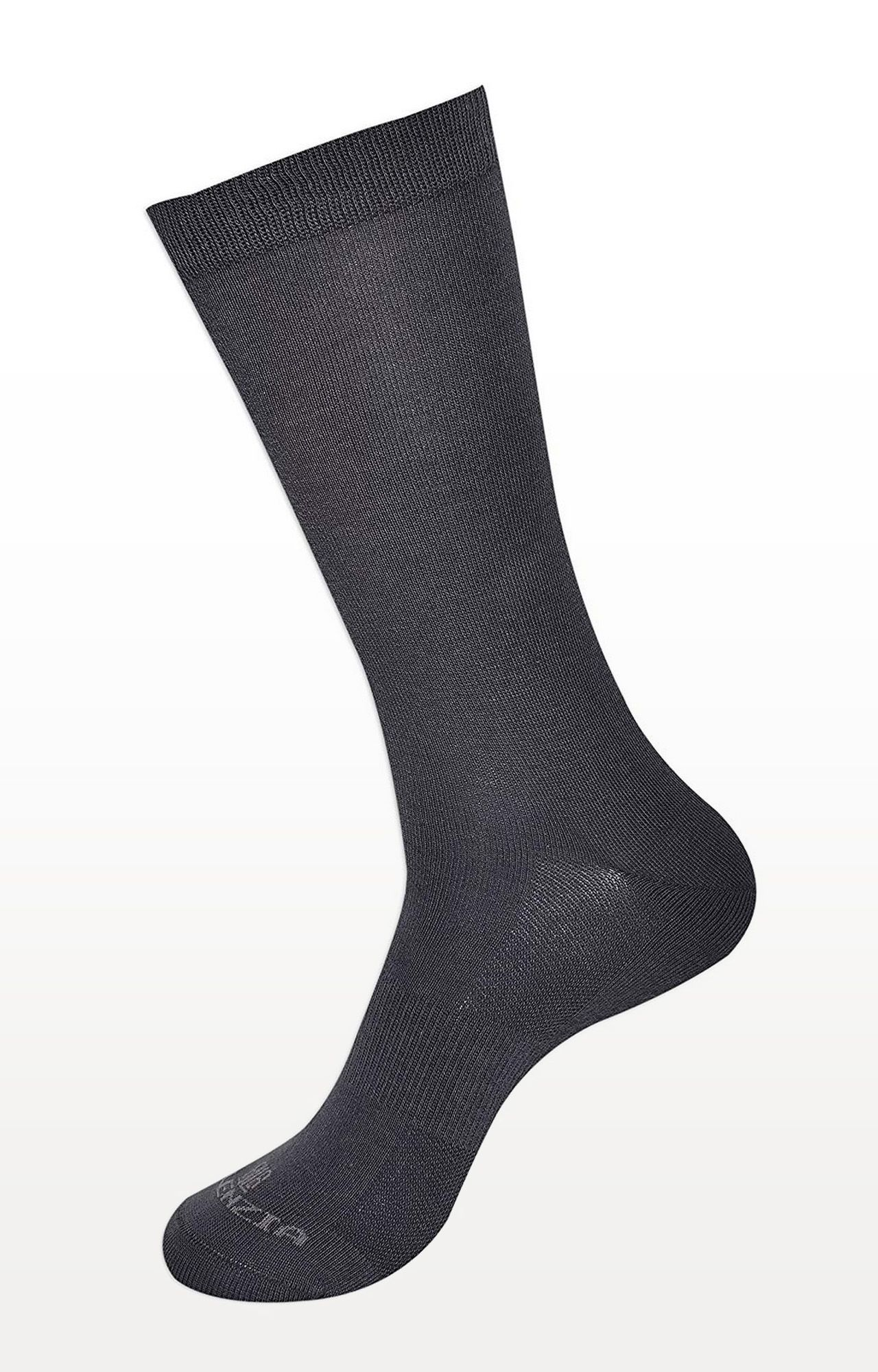 BALENZIA | Grey Solid Socks - Pack of 2
