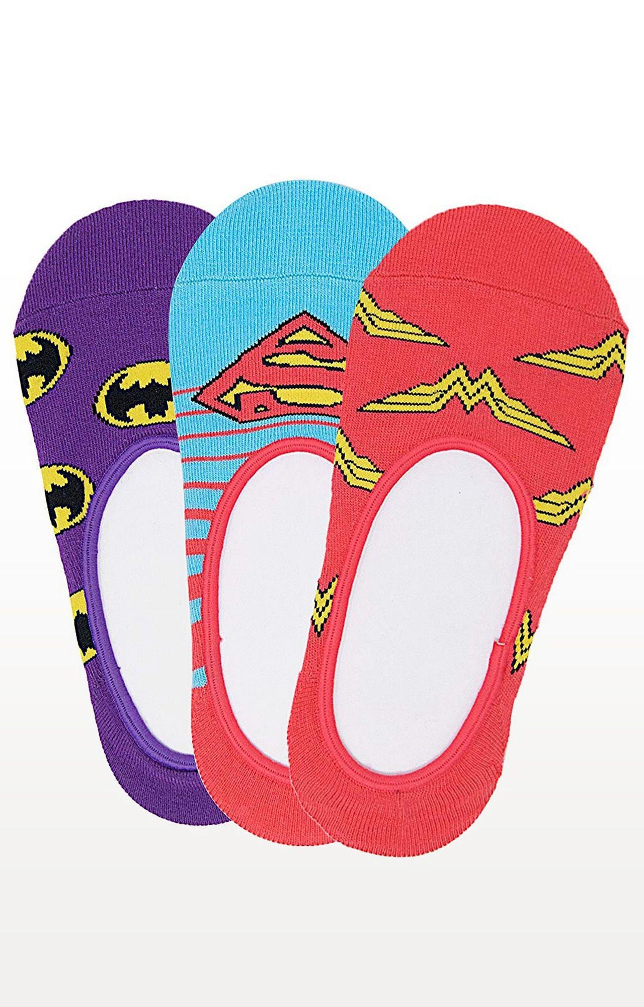 BALENZIA | Multicoloured Striped Socks - Pack of 3