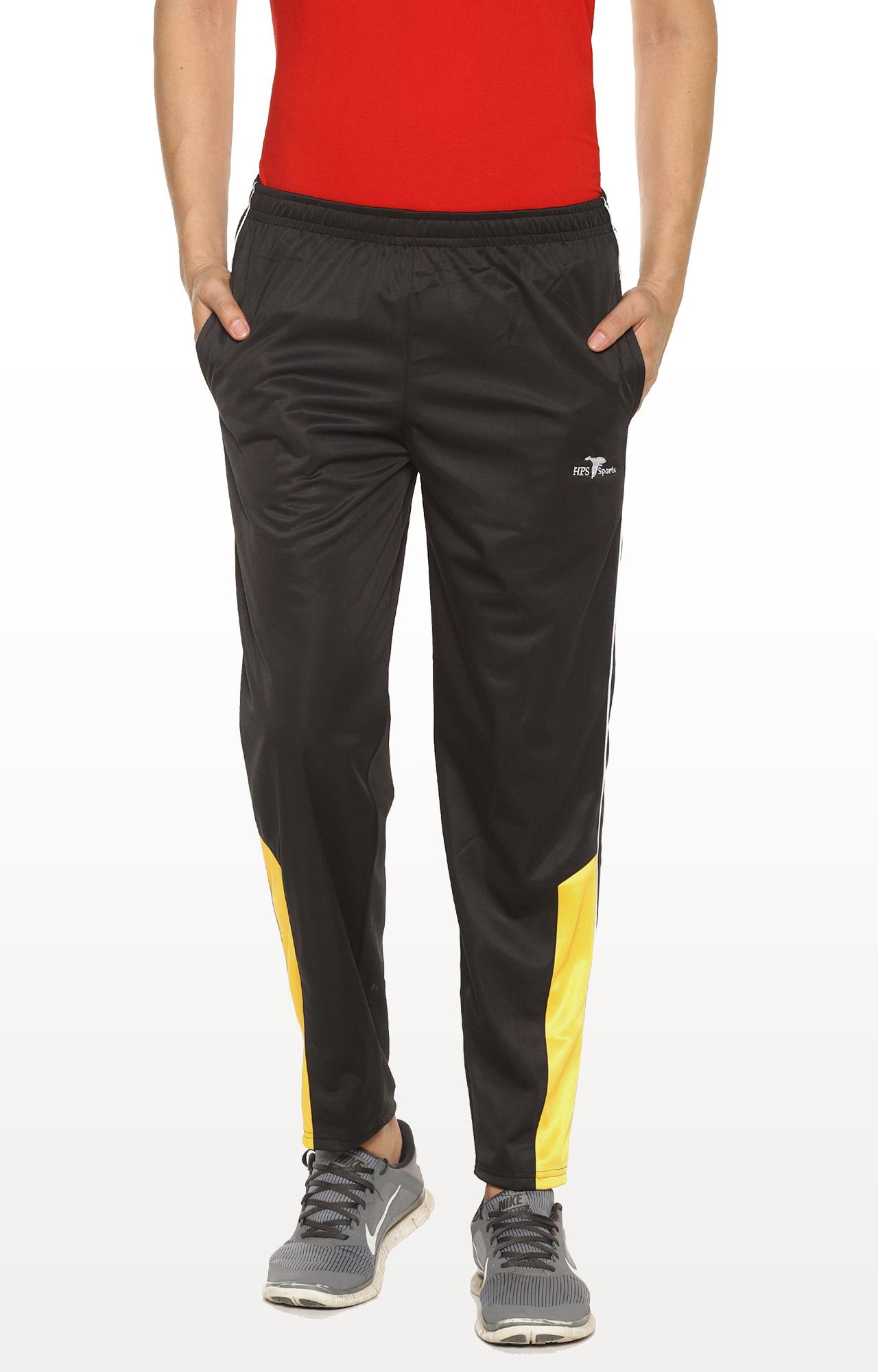 HPS Sports | Black Solid Trackpants