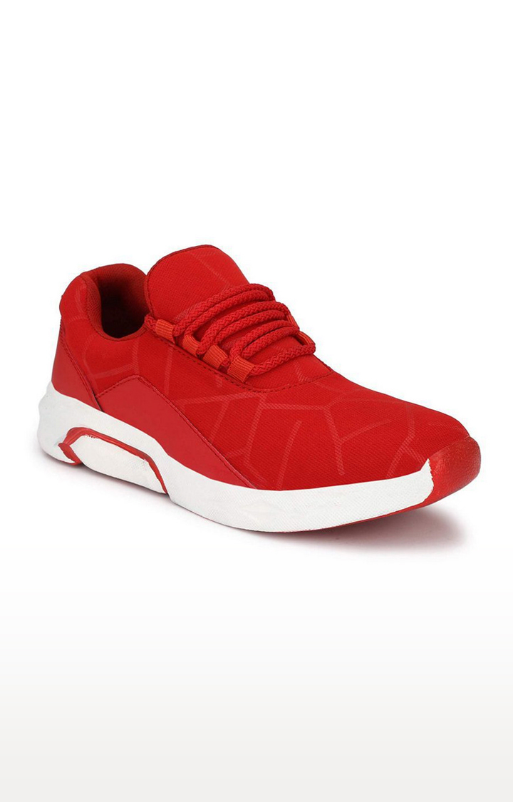 Climbr   Red Casual Lace-ups