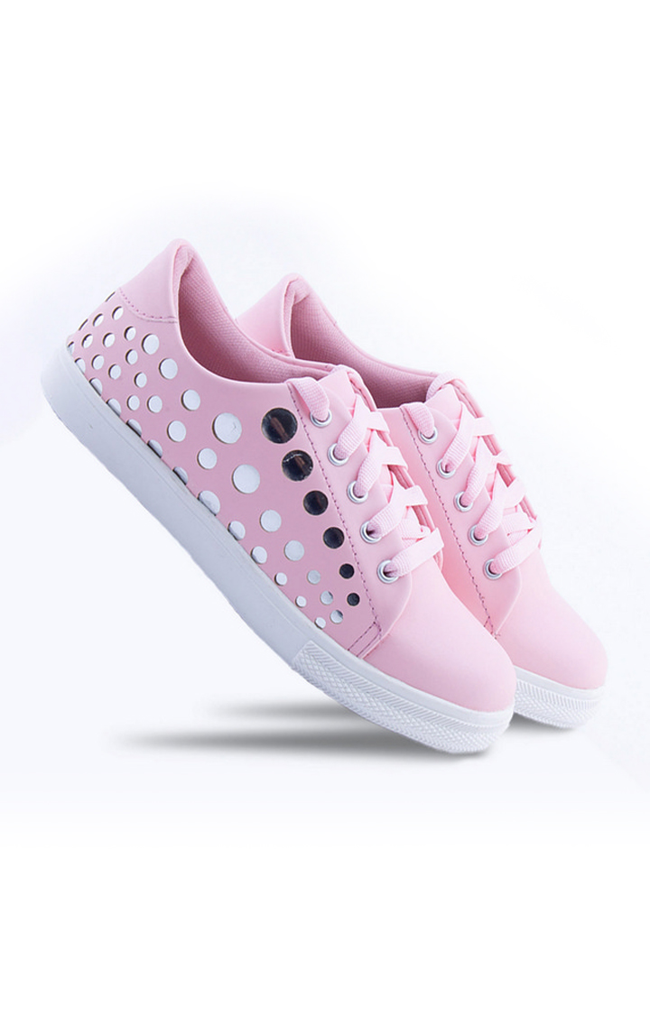 Climbr   Pink Sneakers