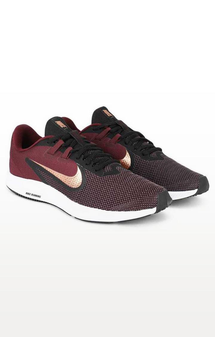 Nike   Nike Maroon Wmns Downshifter 9 Running Shoes
