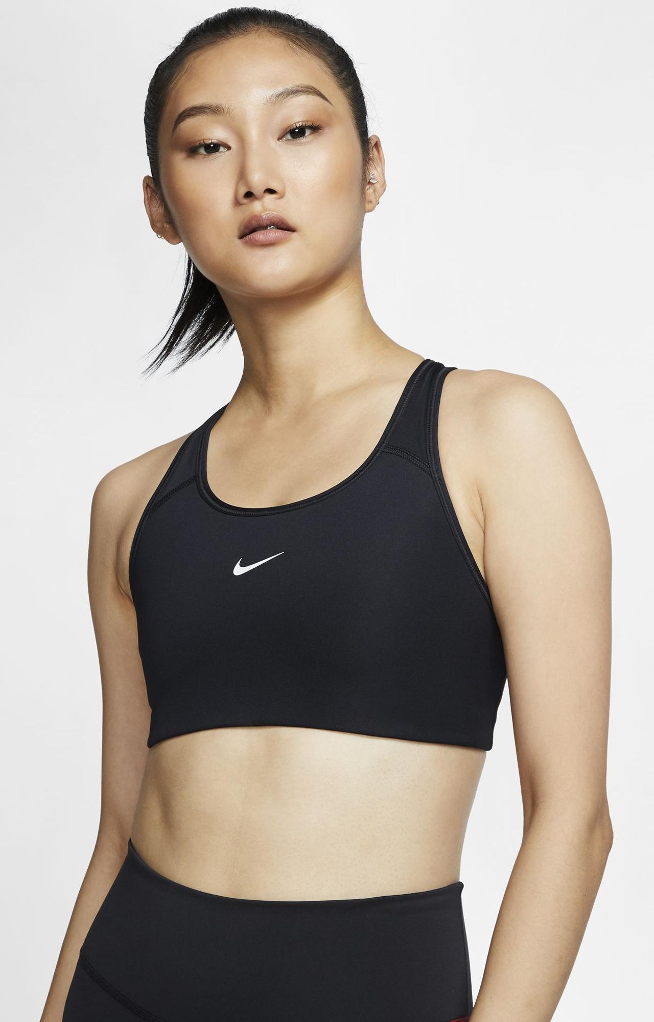Nike   NIKE AS NIKE SWOOSH BRA PAD BRATOP