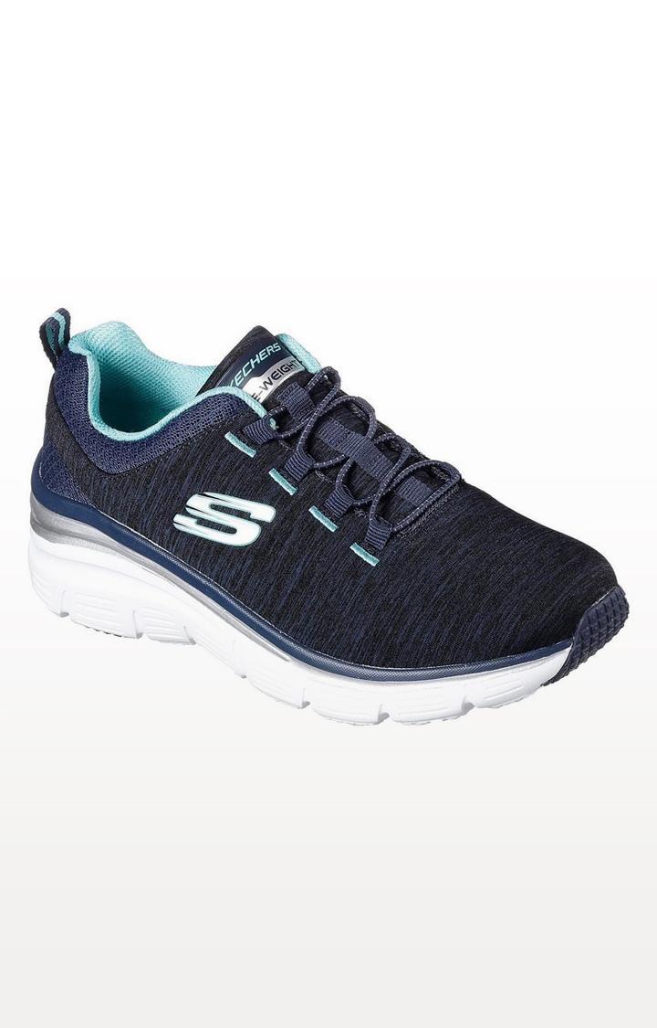 Skechers   Blue Trainers