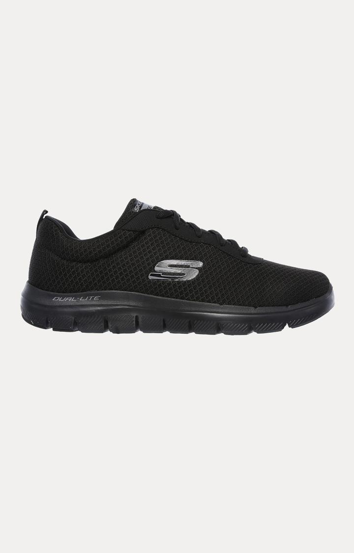 Skechers   Black Sports Shoes