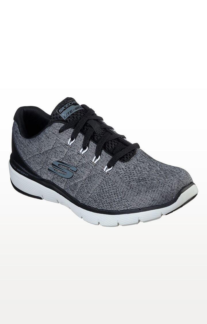 Skechers   Grey Flex Advantage 3.0 Sports Shoes