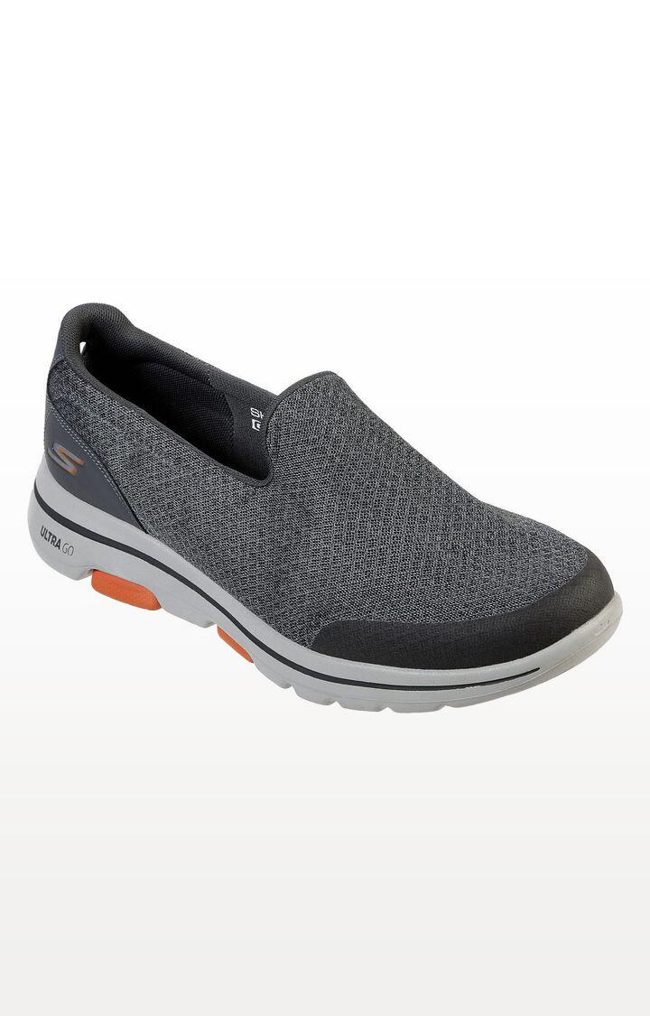 Skechers | Grey Go Walk 5-Sparrow Sports Shoes