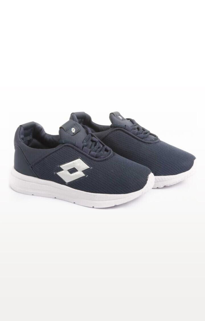 Lotto | Lotto Kids Remo Blue/White School Shoes