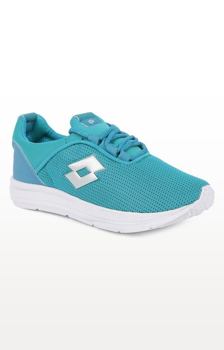Lotto | Lotto Kids Remo Turquoise/White School Shoes