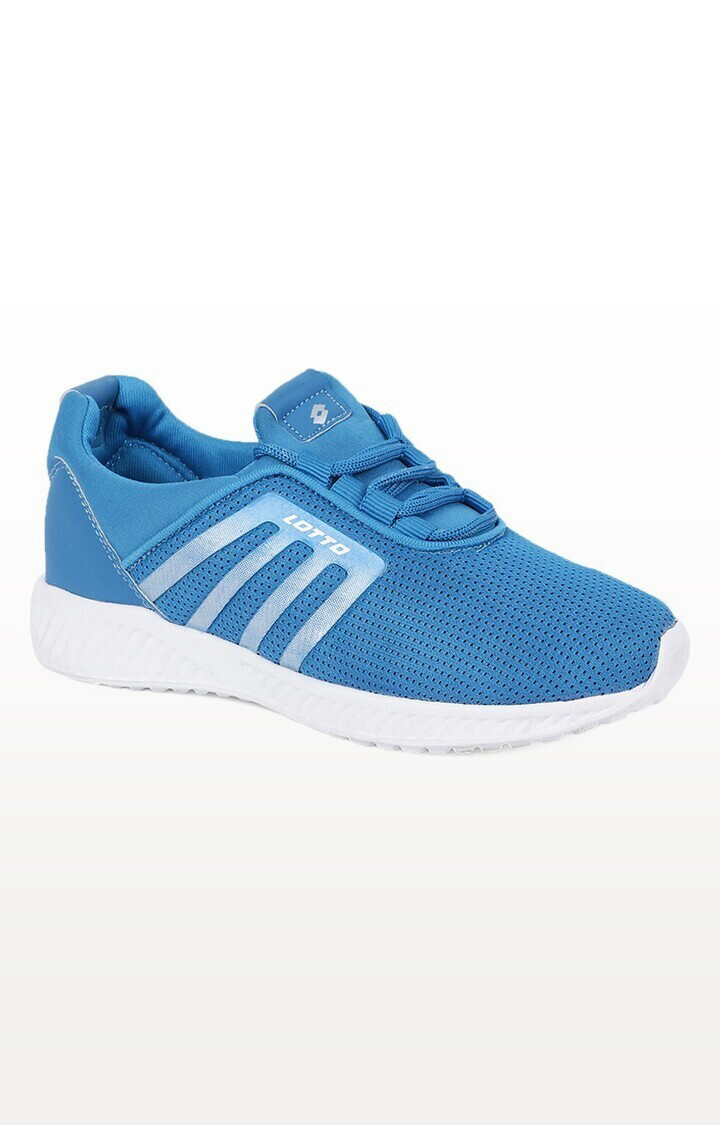 Lotto | Lotto Kids Elio Sky Blue/White School Shoes