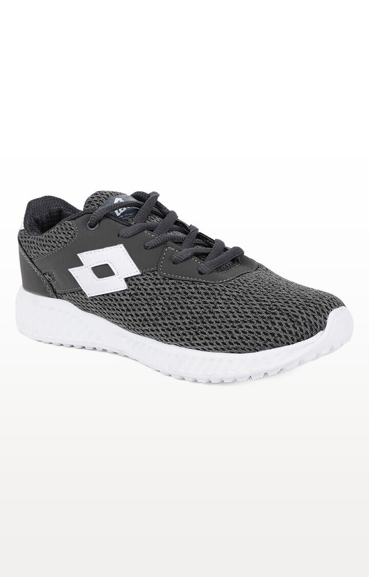 Lotto | Lotto Kids Oliver Grey/White School Shoes