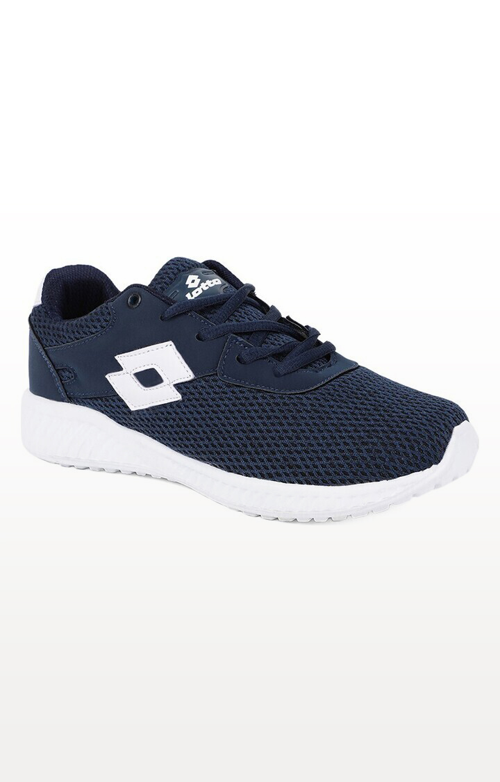 Lotto   Lotto Kids Oliver Navy/White School Shoes