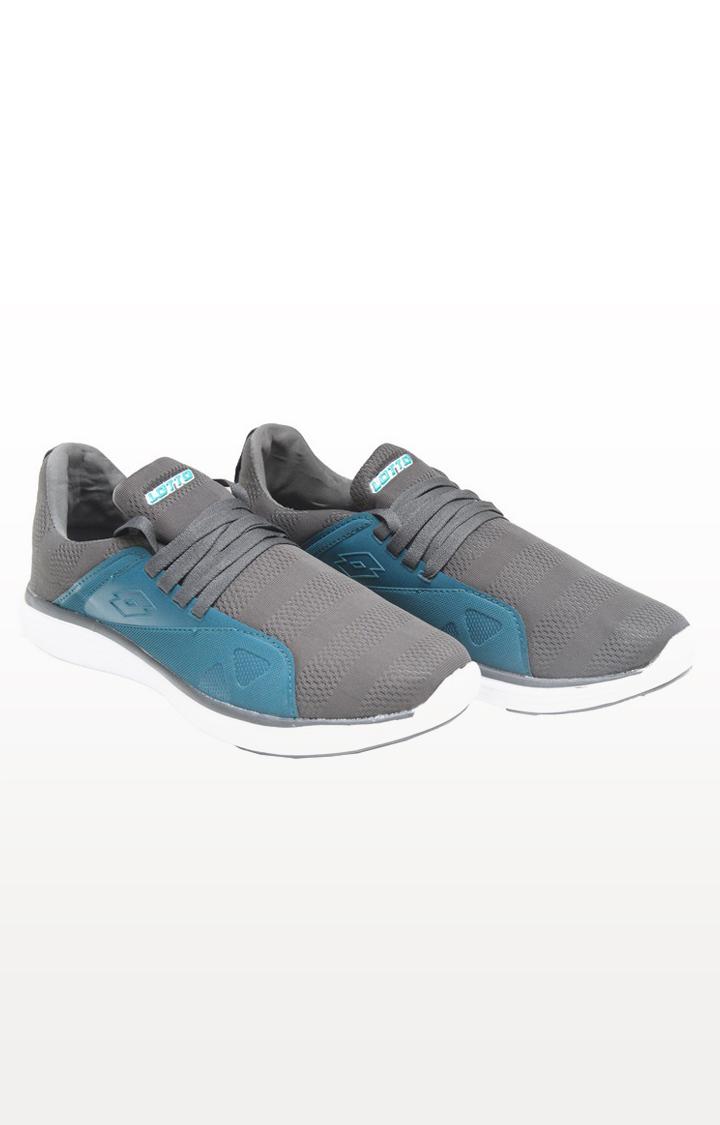 Lotto | Lotto Men's Pubzee Sl Grey/Teal Walking Shoes Shoes
