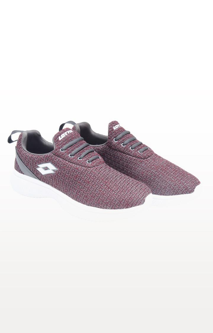Lotto   Lotto Men's Creativa Sl Maroon Walking Shoes Shoes