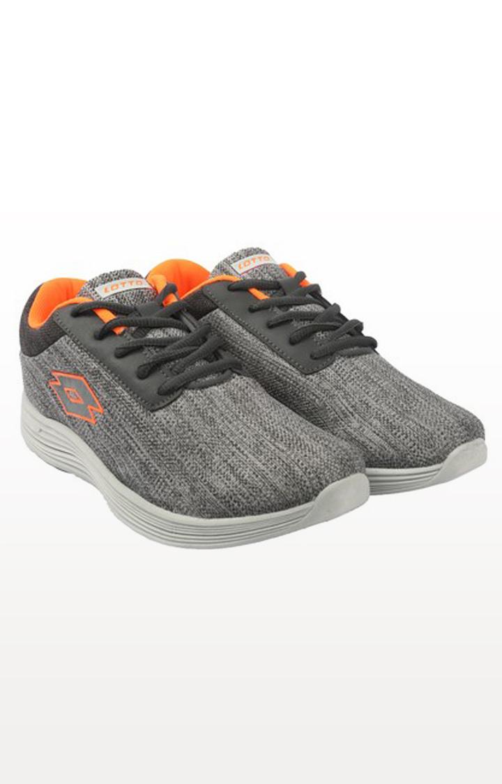 Lotto | Lotto Men's Decimo Grey/Orange Training Shoes