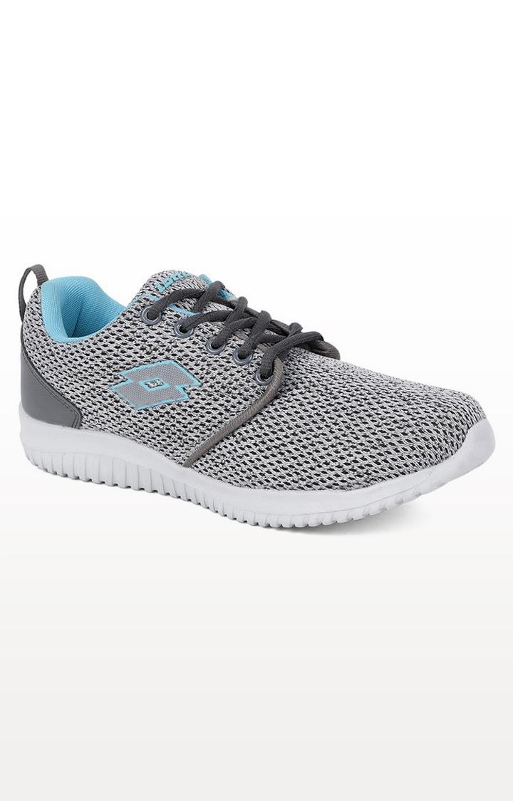 Lotto   Lotto Women's Alyssa Grey/Blk/Teal Training Shoes