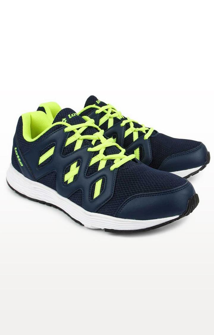 Lotto | Lotto Men's Sleek Blue/Green/Blue Running Shoes