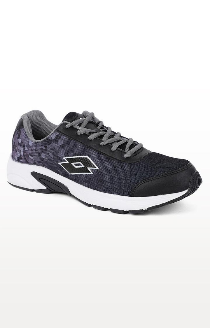 Lotto | Lotto Men's Lotto Jazz 2.0 Black/Ashphalt Running Shoes