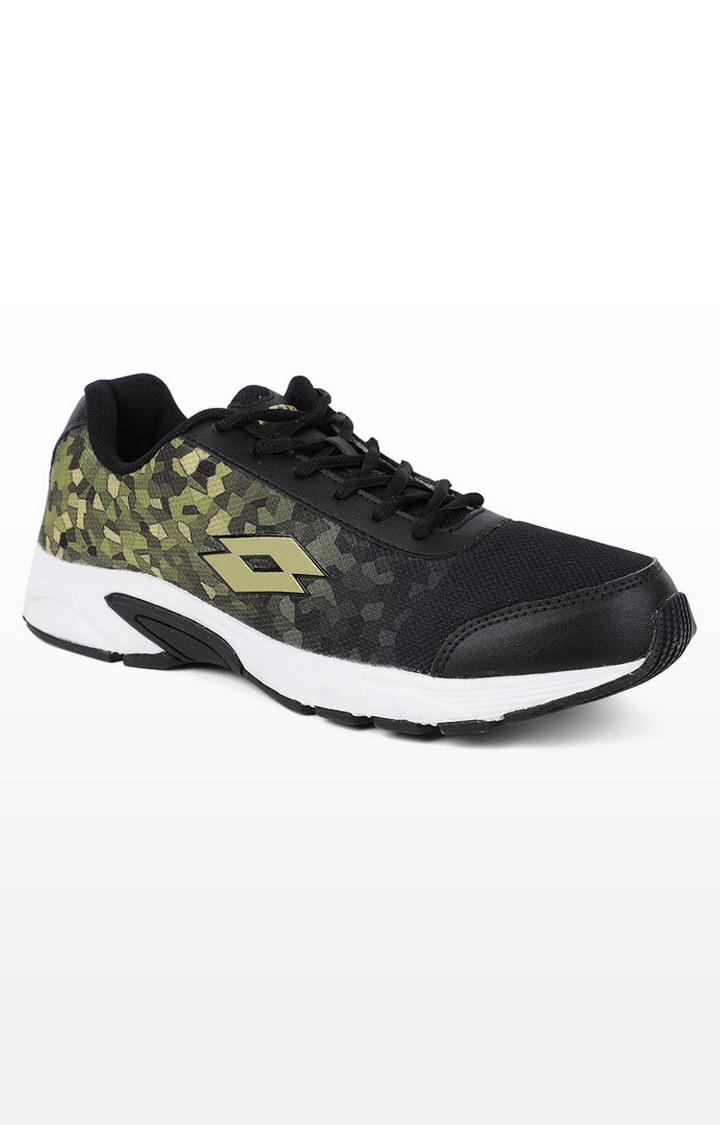 Lotto | Lotto Men's Lotto Jazz 2.0 Black/Olive Running Shoes