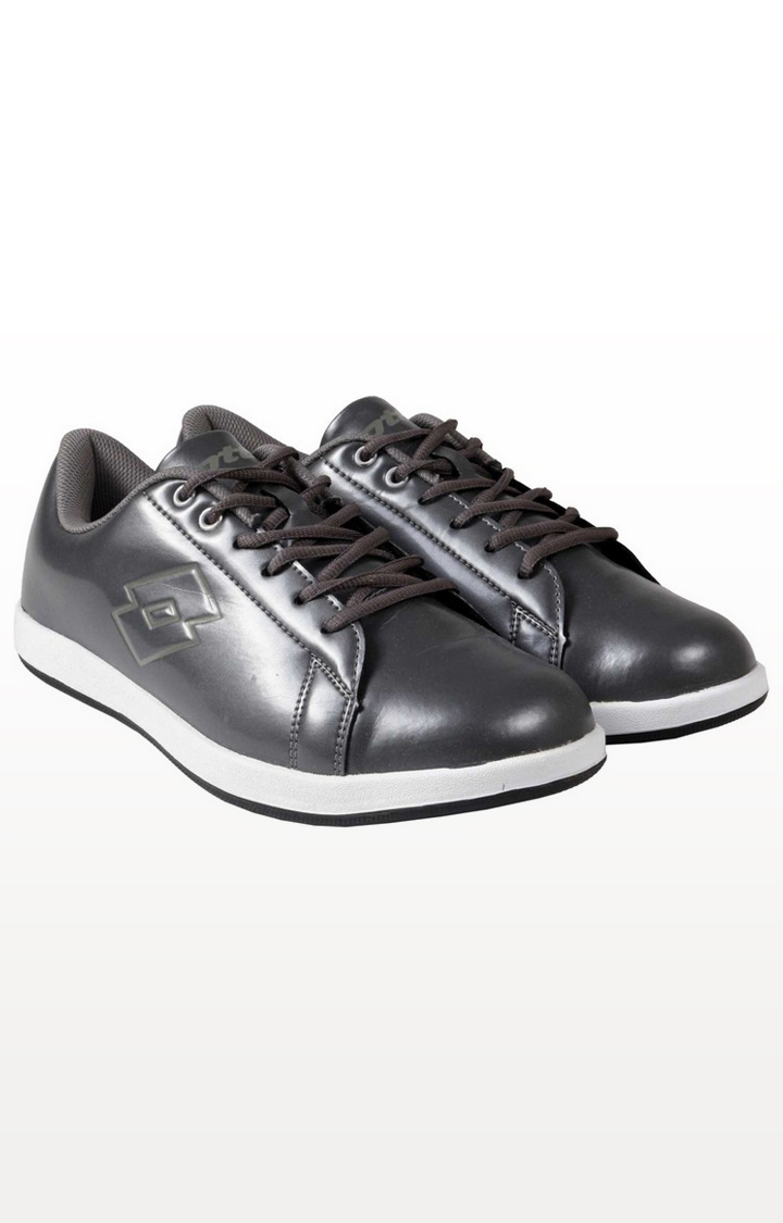 Lotto   Lotto Men's Provo Dark Grey Lifestyle Shoes
