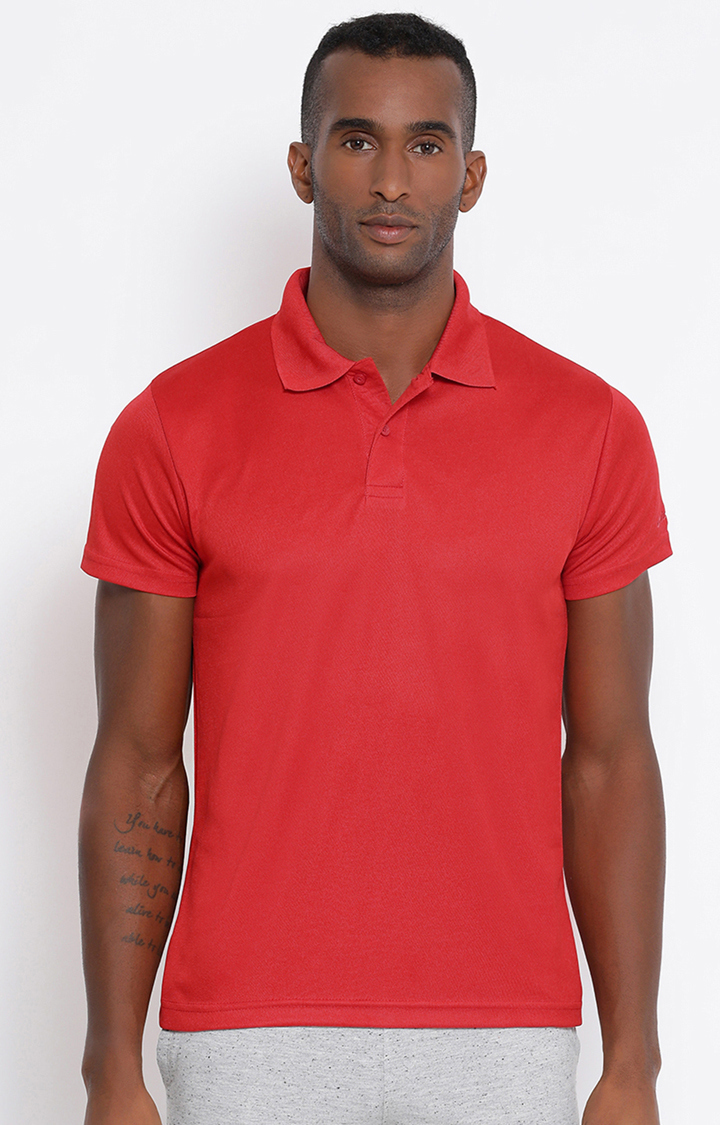Lotto | Lotto Men's Polo Basic Red/Flame T-Shirt