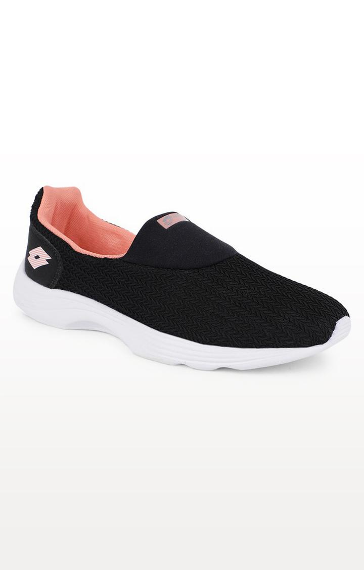 Lotto | Lotto Women's Runlite Slip On Ii Black/White/Black Training Shoes