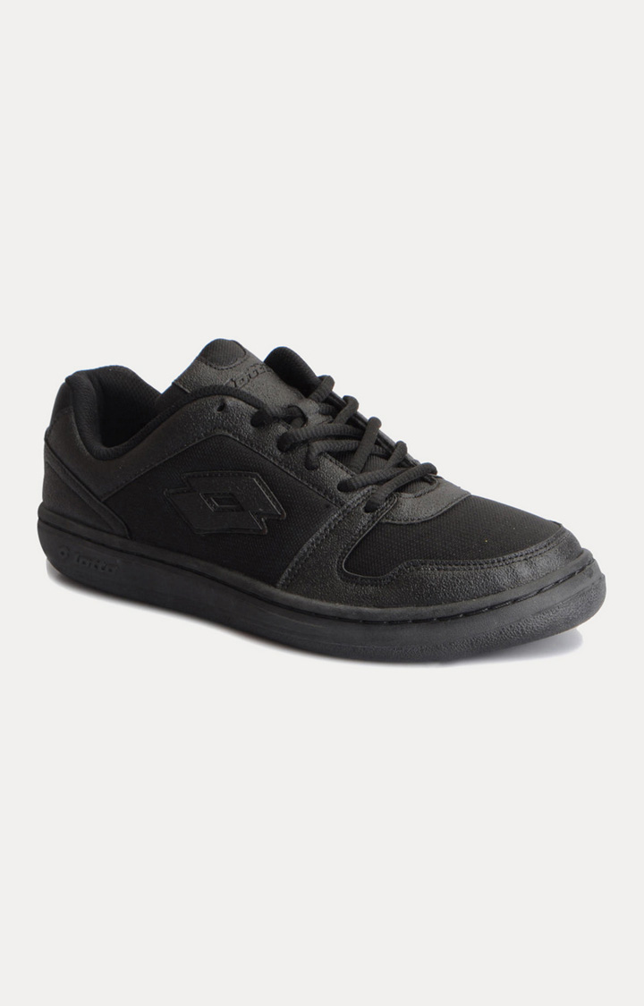 Lotto | Lotto Men's Lotto Ace Black School Shoes
