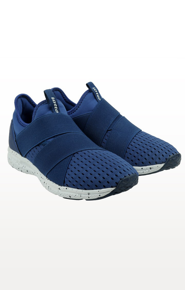 Lotto   Lotto Women's Hebrew Indian Blue/ White Training Shoes