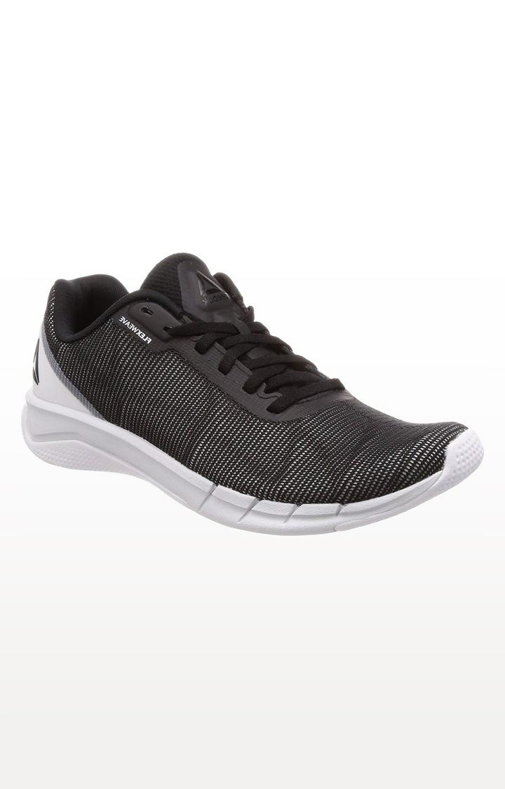 Reebok | Black Flexweave Running Shoes