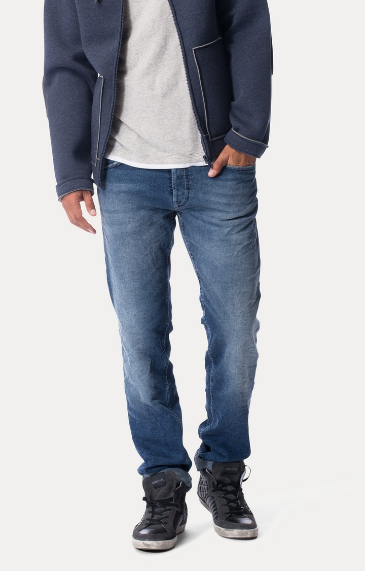 GAS | Blue Straight Jeans
