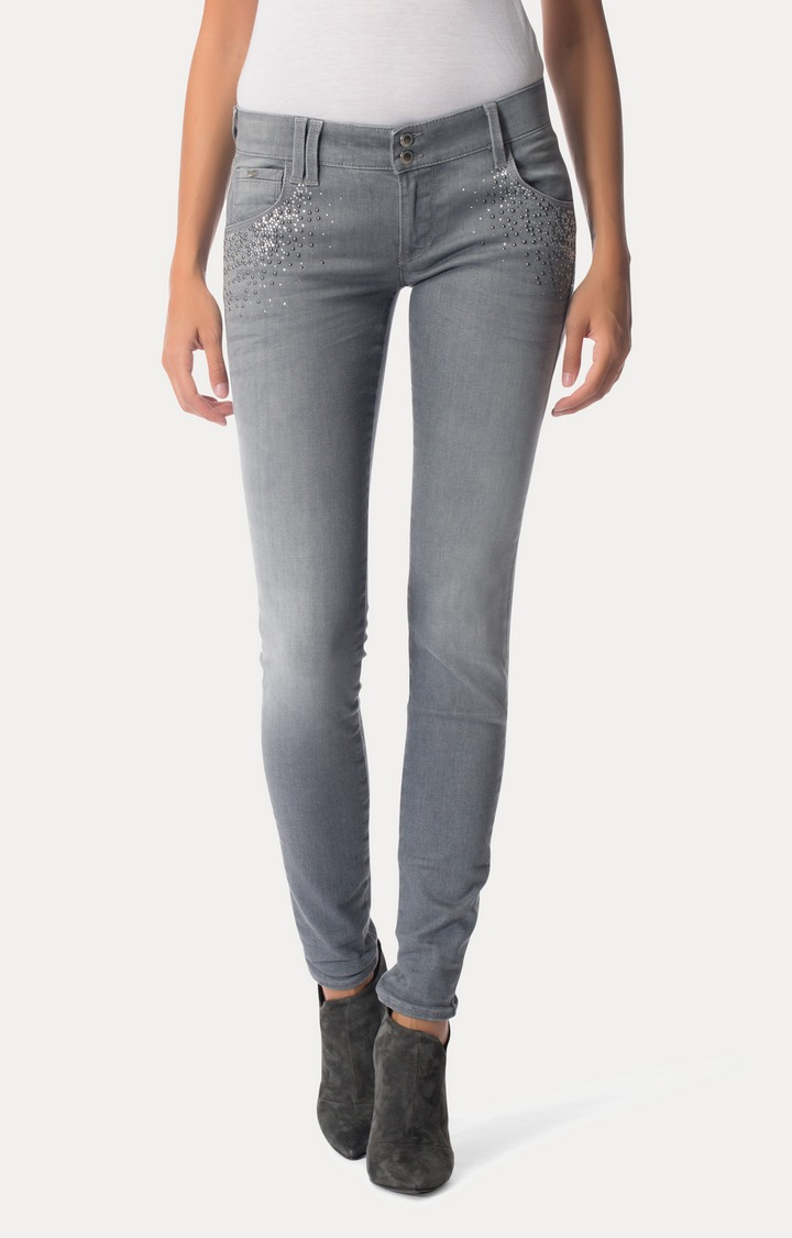 GAS   Grey Straight Jeans
